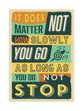 Do Not Stop Pósters por  Vintage Vector Studio