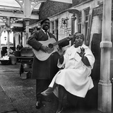 Sister Rosetta Tharpe and Brownie Mcghee, 1964 Photographic Print by  Ashurst