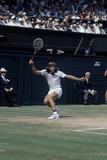 Wimbledon Final 1980. John McEnroe v Bjorn Borg, 1980 Fotografisk tryk af  Cottrell