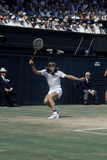 Wimbledon Final 1980. John McEnroe v Bjorn Borg, 1980 Photographic Print by  Cottrell