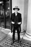 Joe Strummer, 1981 Fotografisk tryk af Eric Harlow