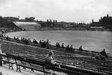 Headingley, the Ground of Yorkshire Cricket Club in Leeds.. C.1935 Fotografisk trykk av  Staff