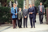 Prince William's First Day at Eton, 1995 Fotografisk tryk af Kent Gavin