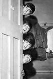 Beatles in Manchester Fotografisk trykk av  Hicklin
