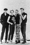 The Clash, 1982 Reproduction photographique par  English