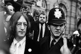 John Lennon and Yoko Ono, 1968 Fotografisk trykk av  Jones