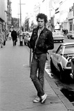 Sex Pistols Guitarist Sid Vicious. 29th March 1977 Fotografisk tryk af Charles Ley