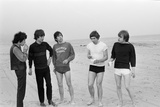 Rolling Stones on Malibu Beach, 1964 Photographic Print by  Gunther