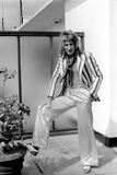 Rod Stewart, 1975 Photographic Print by  Staff