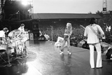 The Who in Concert 1976 Fotoprint av Mike Maloney