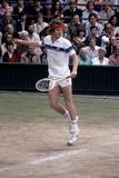 Wimbledon Final 1981. John Mcenroe V Bjorn Borg. 4th July 1981 Reproduction photographique par  Cottrell