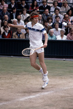 Wimbledon Final 1981. John Mcenroe V Bjorn Borg. 4th July 1981 Photographic Print by  Cottrell