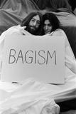 John Lennon and Yoko Ono, 1969 Fotografisk trykk av Tom King