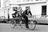 The Goodies on Tandem Bike in London 1973