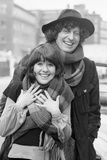 Doctor Who, Actor Tom Baker - the 4th Doctor, 1974 Stampa fotografica di Ron Burton