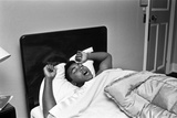 Cassius Clay Catches Up on Some Sleep Reproduction photographique par  Ley and Sidey