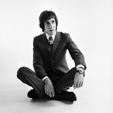 Pete Townshend of the Who Wearing Smart Clothes 1967 Fotoprint av Beverly Goodway
