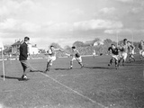 Wales V France Five Nations Rugby Championship, 1952 Photographic Print by  Staff