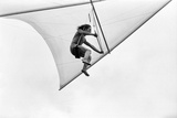 Roger Daltrey Hang Gliding Photographic Print by George Phillips
