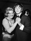 Paul McCartney and his Aunt Joan 1964 Photographic Print by Daily Mirror
