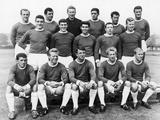 Manchester United at Wembley, 1963 Fotoprint van  Staff