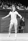 John Mcenroe at Wimbledon, 1977 Reproduction photographique par Mike Maloney