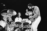 The Who Concert 1975 Fotoprint av Allan Olley