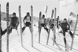 1976 Winter Olympic Game Fotografisk tryk af Eric Piper