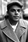 Ian Dury pictured in the street outside his house in Kennington, 1977 Photographic Print by  Staff