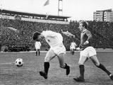 Partizan Belgrade V Manchester United European Cup Semi Final, 1966 Photographic Print by  Staff