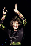 Whitney Houston at Earls Court 1993 Fotografisk tryk af Chris Grieve