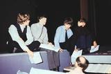 The Beatles at London Palladium, 1964 Photographic Print by  Staff
