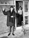 George Harrison and Father 1963 Photographic Print by Daily Mirror