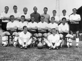 Fulham FC Team photo Photographic Print by  Staff