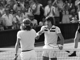 Wimbledon 1977 Photographic Print by Ron Hallett Peter Cook