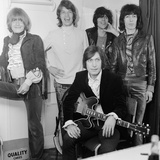 Rolling Stones at New Musical Express, 1968 Fotoprint van  Staff