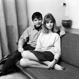 David Bailey and Jean Shrimpton, 1963 Photographic Print by Freddie Cole