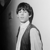 Keith Richards of the Rolling Stones. January 1964 Stampa fotografica di  Staff