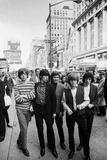 The Rolling Stones on Broadway, 1964 Fotografisk tryk af Stan Mays