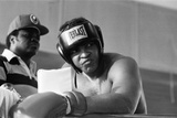 Muhammad Ali Training at the Hotel Concord Fotoprint van Monte Fresco