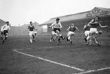 Division Two Fulham 2 v. West Ham 2, 1958 Photographic Print by  Staff