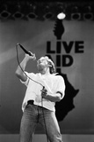 The Who Perform at Live Aid 1985 Fotoprint van  Staff