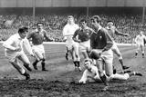 Wales V England - March 1970 Fotografisk trykk av  Western Mail