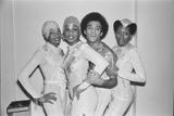 Boney M' dance group in Hamburg 1978 Photographic Print by Peter Stone