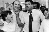 Muhammad Ali and Jack Bodell Fotografisk tryk af Coventry Telegraph Archive