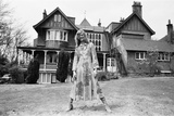 David Bowie, Haddon Hall, 1971 Photographic Print by Peter Stone