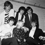 Fans meet Rolling Stones in Chester, 1964 Photographic Print by  Thomas