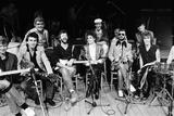 Carl Perkins Super Group, 1985 Fotografisk tryk af Peter Stone