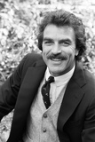 Tom Selleck Photographic Print by Peter Stone