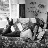 Diana Rigg Fotografie-Druck von John Varley